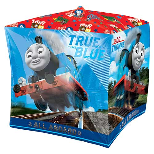 Thomas the Tank Engine Cubez Foil Helium Balloon 38cm / 15 in Product Image