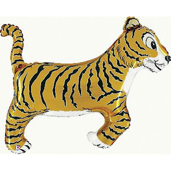 Tiger Helium Foil Giant Balloon 104cm / 41 in Product Image
