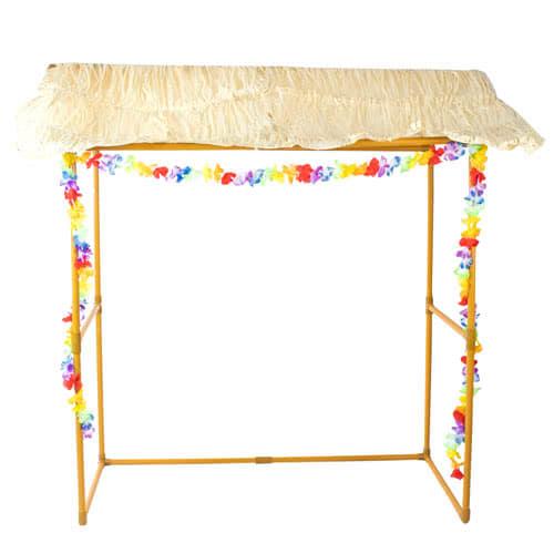 Tiki Bar Hut Frame