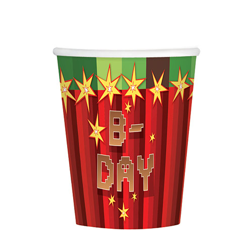 TNT Party Paper Cups 266ml - Pack of 8 Product Image