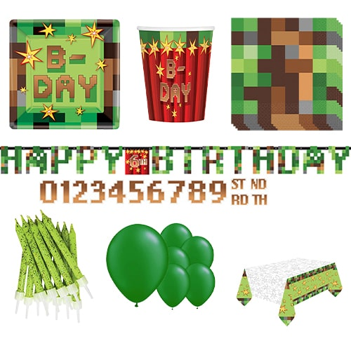 TNT Party 8 Person Deluxe Party Pack Product Image