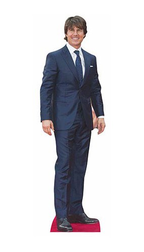 Tom Cruise Lifesize Cardboard Cutout - 170 cm Product Image