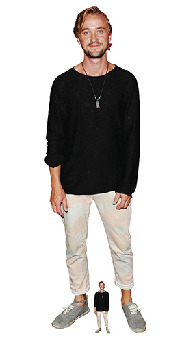Tom Felton Trainers Lifesize Cardboard Cutout 176cm Product Image