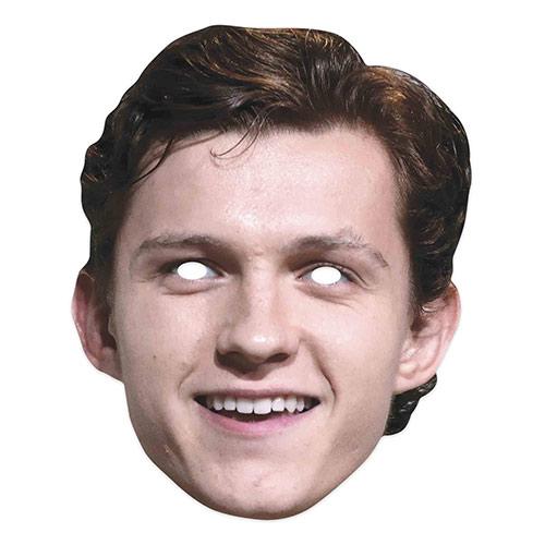 Tom Holland Cardboard Face Mask