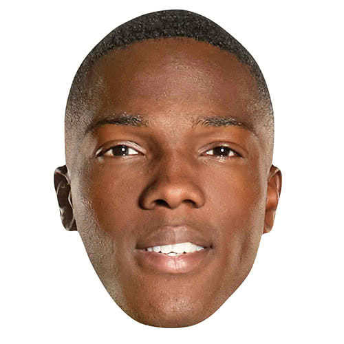 Tosin Cole Ryan Doctor Who Cardboard Face Mask Product Image