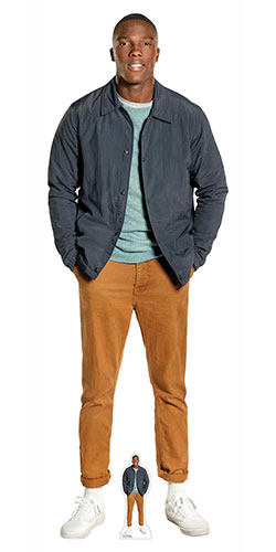 Tosin Cole Ryan Dr Who Lifesize Cardboard Cutout 183cm Product Image