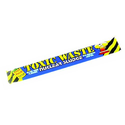 Toxic Waste Blue Raspberry Chew Bar Vegetarian Sweet 20g Product Image