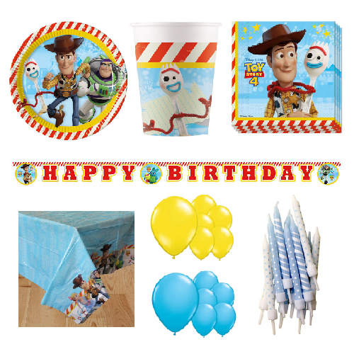 Toy Story 16 Person Deluxe Party Pack