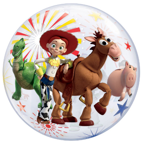 Toy Story 4 Bubble Helium Qualatex Balloon 56cm / 22 in Product Gallery Image