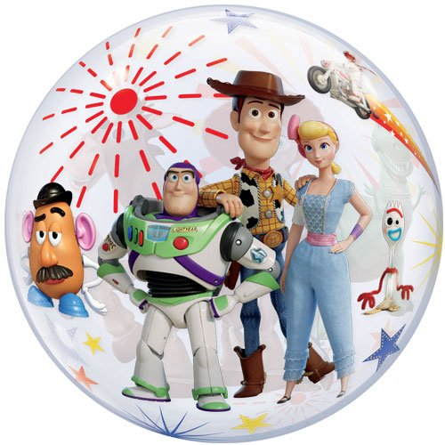 Toy Story 4 Bubble Helium Qualatex Balloon 56cm / 22 in Product Image