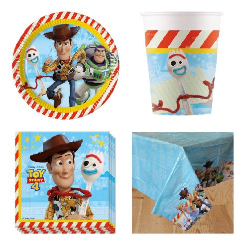 Toy Story 8 Person Value Party Pack
