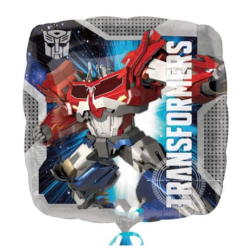 Transformers Square Foil Helium Balloon 43cm / 17Inch Product Image