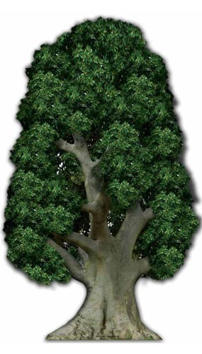 Tree Lifesize Cardboard Cutout - 178cm