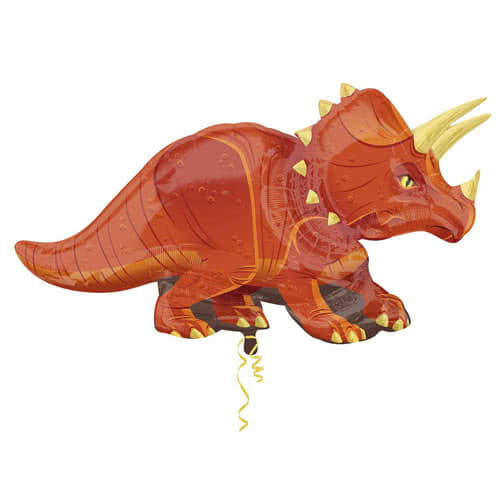 Triceratops Dinosaur Helium Foil Giant Balloon 106cm / 42 in Product Image