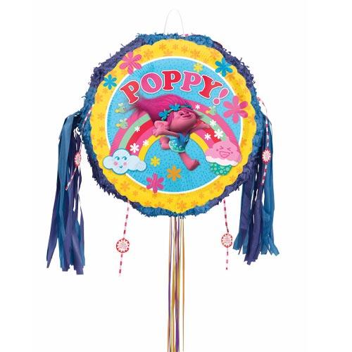 Trolls Poppy Pull String Pinata