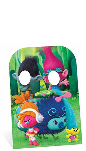 Trolls Stand In Cardboard Cutout - 136cm Product Image