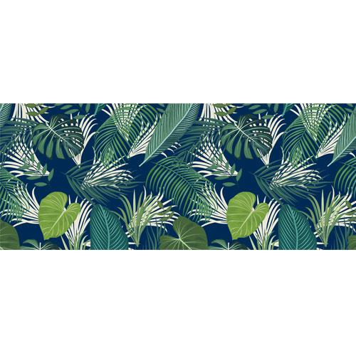 Tropical Foliage PVC Party Sign Decoration 60cm x 25cm Product Image