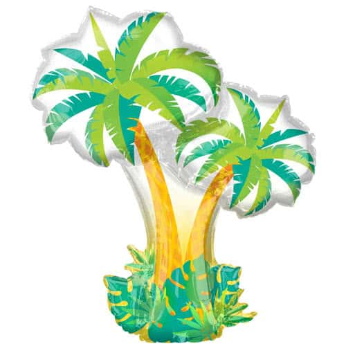 Tropical Palm Trees Helium Foil Giant Balloon 86cm / 34 in