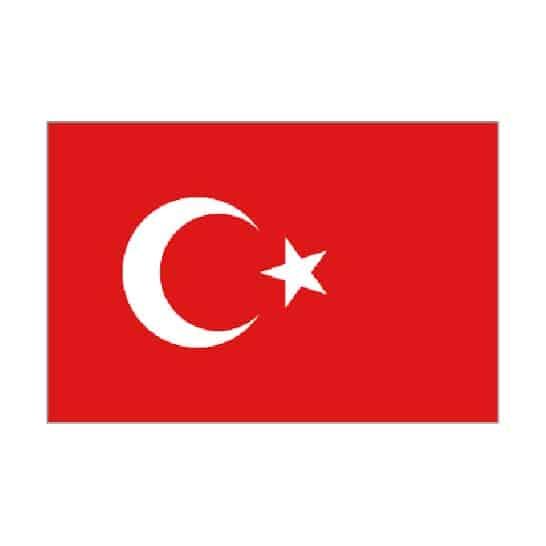 Turkey Flag - 5 x 3 Ft