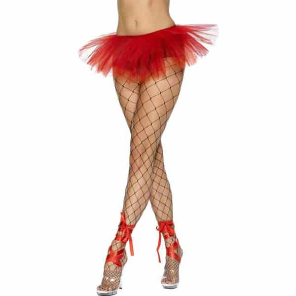 Neon Red Tutu Skirt Product Image