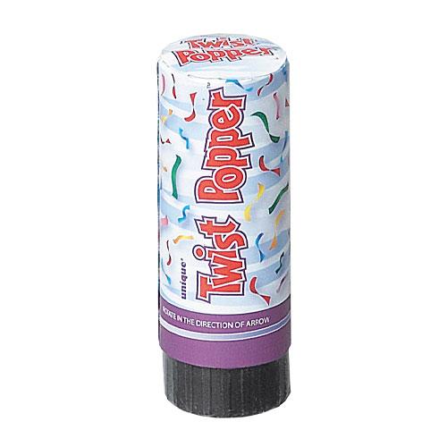 Twist Popper Confetti Shooter 10cm  Product Image