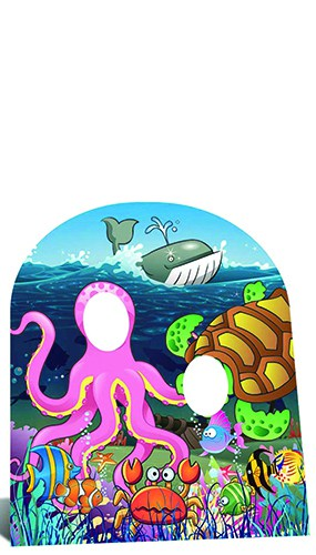 Under the Sea Stand In (Child) Cardboard Cutout - 117cm Product Image