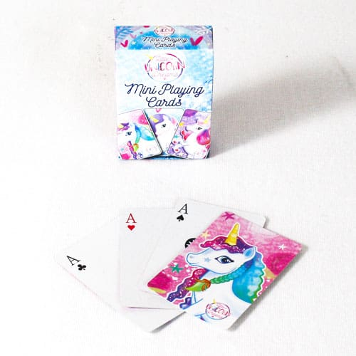 Unicorn Mini Playing Cards