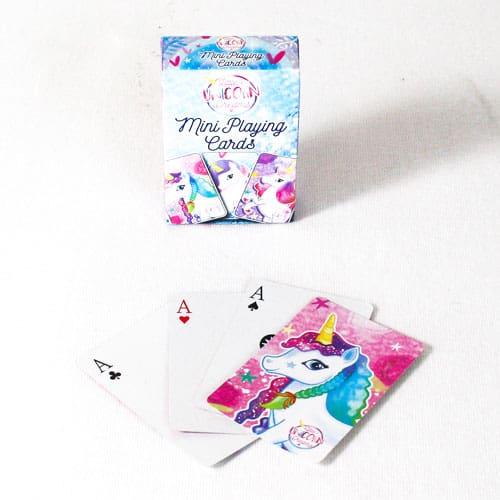 Unicorn Mini Playing Cards Product Image