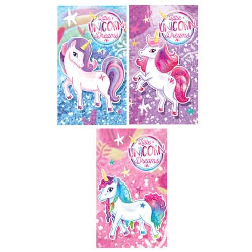 Assorted Unicorn Mini Notebook Product Image
