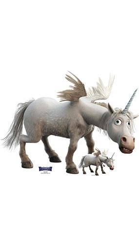 Unicorn Onward Lifesize Cardboard Cutout 94cm Product Image