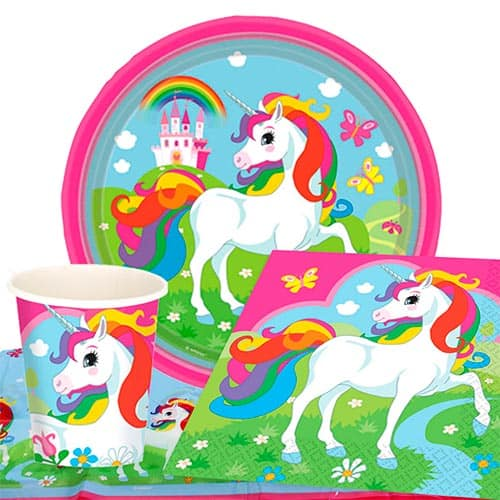 Unicorn 8 Person Value Party Pack