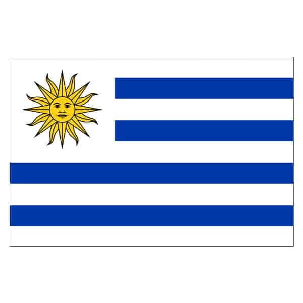 Uruguay Flag - 5 x 3 Ft