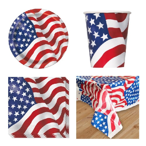USA 8 Person Value Party Pack Product Image