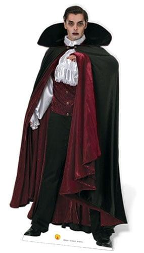 Vampire Lifesize Cardboard Cutout 186cm - PRE-ORDER Product Image
