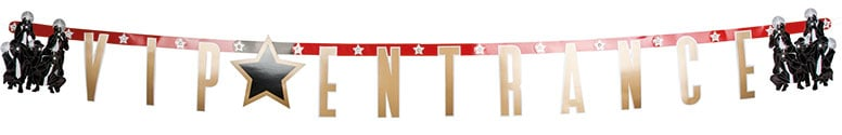 VIP Entrance Letter Banner - 1.7m Product Image