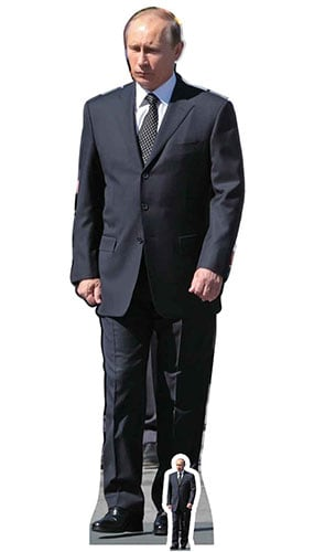 Vladimir Putin Lifesize Cardboard Cutout 173cm Product Image