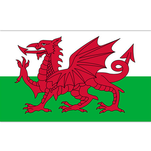 Wales Flag 5 x 3 ft
