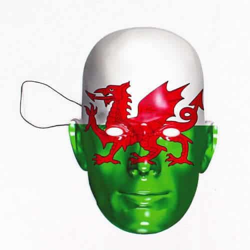 Wales Flag Face Mask Product Image