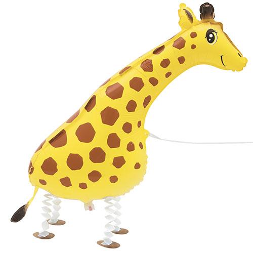 Walking Pet Giraffe Foil Helium Balloon 86cm / 34Inch Product Image