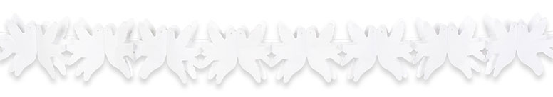 Wedding Dove Paper Garland Decoration 4m Product Image