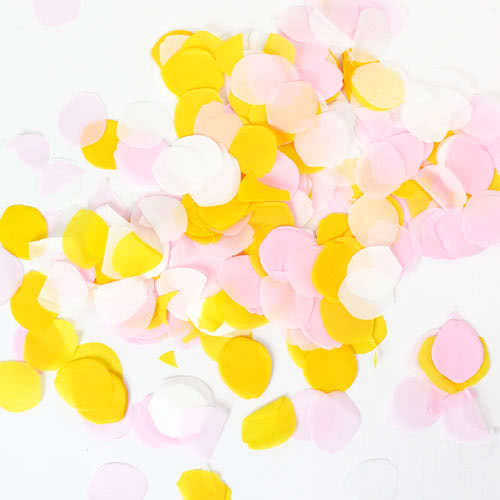Assorted Wedding Rose Petal Shaped Confetti 15gr