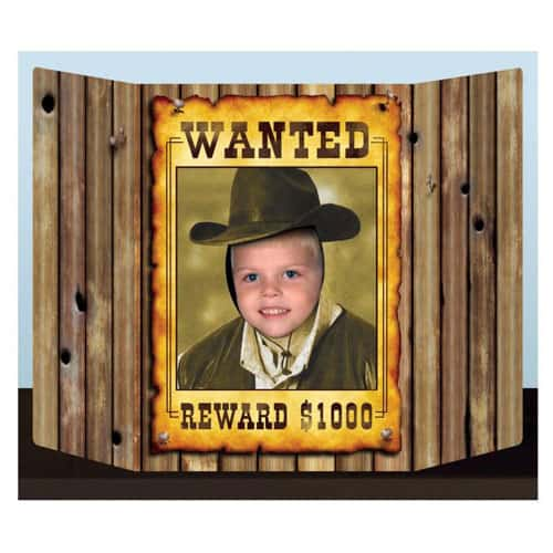Western Wanted Poster Photo Prop - 64cm