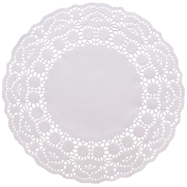 White Round Paper Doilies - 8.5 Inches / 22cm - Pack of 250