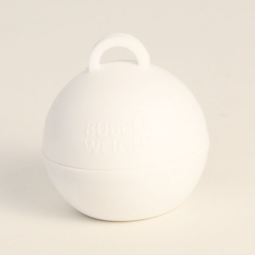 White Bubble Balloon Weight 35g Product Image