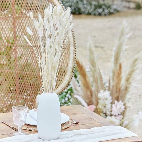 White Bunny Tail Grass - Pack of 20 Product Image