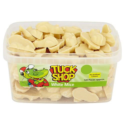 White Chocolate Mice Vegetarian Sweets - Pack of 120