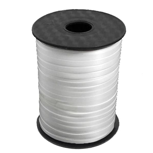 White Curling Ribbon - 100 yd / 91.4m Product Image