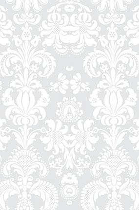 White Damask Design Large PVC Cake Photography Backdrop 137cm x 90cm Product Image