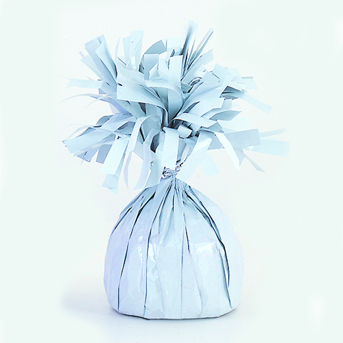 White Foil Balloon Weight Product Image