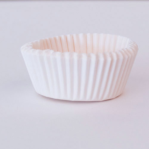 White Paper Cupcake Cases - Pack of 75